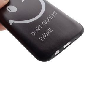 Jelly gélový obal pre mobil Samsung Galaxy J5 - nedotýkať sa - 3