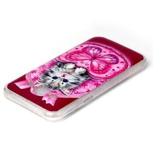 Softy gelový obal na mobil Samsung Galaxy J5 - koťátko - 3