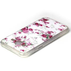 Softy gélový obal pre mobil Samsung Galaxy J5 - kvety - 3