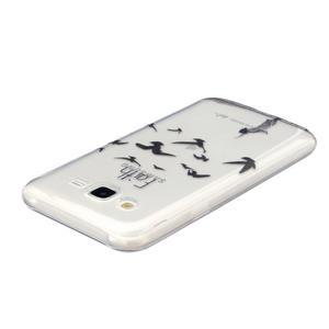 Trans gelový obal na mobil Samsung Galaxy J5 - ptáčci - 3