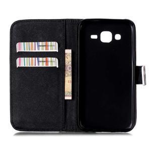 Pictu peňaženkové puzdro pre Samsung Galaxy J5 - nesiahat - 3