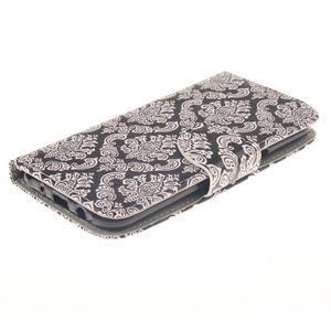 Standy peňaženkové puzdro pre Samsung Galaxy J5 - retro totem - 3