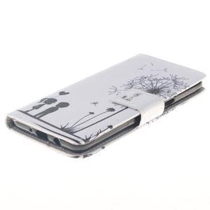 Style peňaženkové puzdro pre Samsung Galaxy J5 (2016) - láska - 3