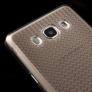 Diamnods gelový obal mobil na Samsung Galaxy J5 (2016) - šedý - 3