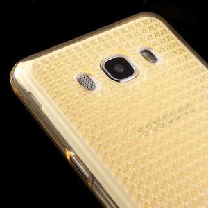 Diamnods gelový obal mobil na Samsung Galaxy J5 (2016) - zlatý - 3