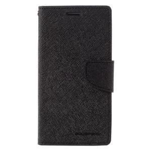 Diary PU kožené puzdro pre mobil Samsung Galaxy J5 (2016) - čierne - 3