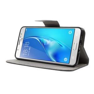 Nice peňaženkové puzdro pro Samsung Galaxy J5 (2016) - zlej méďa - 3