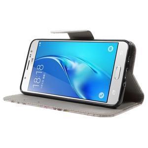 Nice peňaženkové puzdro pro Samsung Galaxy J5 (2016) - Eiffelova veža - 3