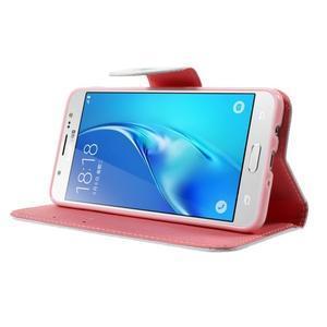 Nice peňaženkové puzdro pro Samsung Galaxy J5 (2016) - vtáčie strom - 3