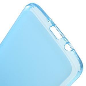 Oboustranně matný gelový obal na Samsung Galaxy J5 (2016) - modrý - 3
