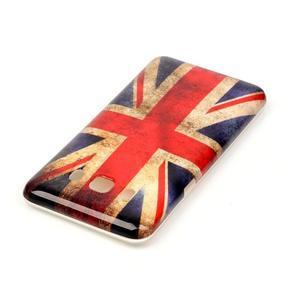 Jelly gélový obal pre Samsung Galaxy J5 (2016) - UK vlajka - 3