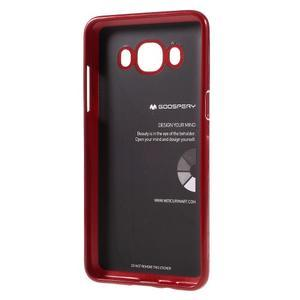 Newsets gelový obal na Samsung Galaxy J5 (2016) - vínověčervený - 3