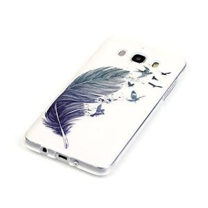 Priehľadný obal pre mobil Samsung Galaxy J5 (2016) - pierko - 3