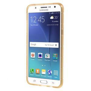 Cube gelový obal na Samsung Galaxy J5 (2016) - zlatý - 3