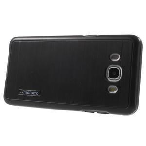 Gélový obal s plastovou výstuhou pre Samsung Galaxy J5 (2016) - čierný - 3