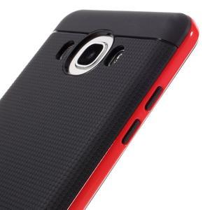 Hybridní obal 2v1 na mobil Samsung Galaxy J5 (2016) - červený - 3