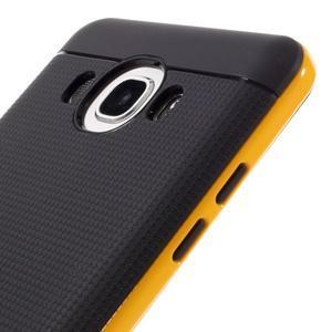 Hybridní obal 2v1 na mobil Samsung Galaxy J5 (2016) - žlutý - 3