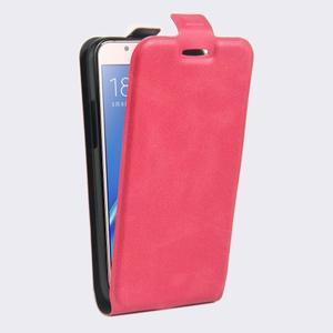 Flipové pouzdro na mobil Samsung Galaxy J5 (2016) - rose - 3