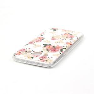 Softy gelový obal na mobil Samsung Galaxy J5 (2016) - květiny - 3
