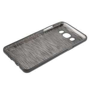 Brushed gelový obal na mobil Samsung Galaxy J5 (2016) - černý - 3