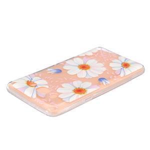 Transparentní gelový obal na Samsung Galaxy J5 (2016) - sedmikrásky - 3