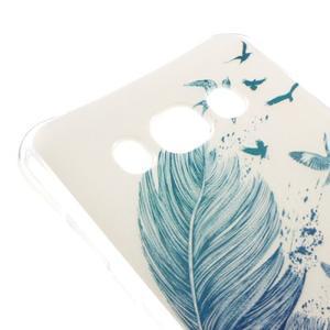 Antišok gelový obal na Samsung Galaxy J5 (2016) - ptačí peříčko - 3