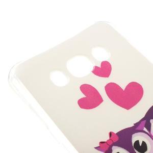 Antišok gelový obal na Samsung Galaxy J5 (2016) - soví rodinka - 3