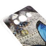 Antišok gelový obal na Samsung Galaxy J5 (2016) - modrý motýl - 3/4
