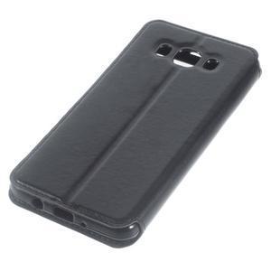 Royal pouzdro s okýnkem na Samsung Galaxy J5 (2016) - černé - 3