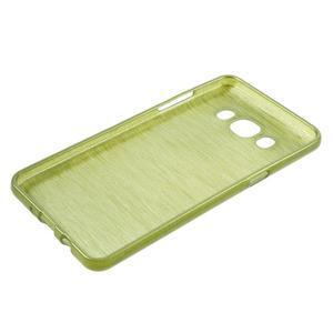 Brushed gelový obal na mobil Samsung Galaxy J5 (2016) - zelený - 3