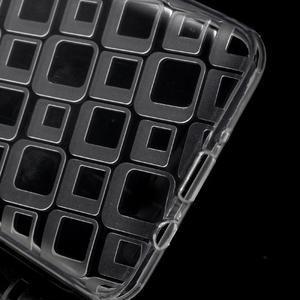 Square gélový obal pre Samsung Galaxy J5 (2016) - transparentný - 3