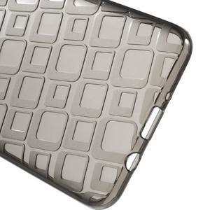 Square gélový obal pre Samsung Galaxy J5 (2016) - šedý - 3