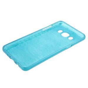 Brushed gelový obal na mobil Samsung Galaxy J5 (2016) - modrý - 3