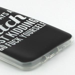 Flexi obal na mobil Samsung Galaxy J5 (2016) - bitch - 3