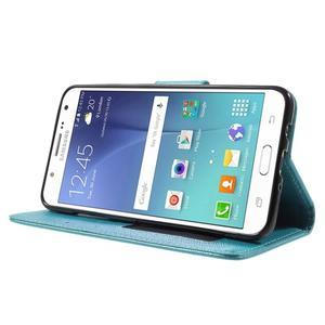 Routy PU kožené pouzdro na Samsung Galaxy J5 (2016) - světlemodré - 3
