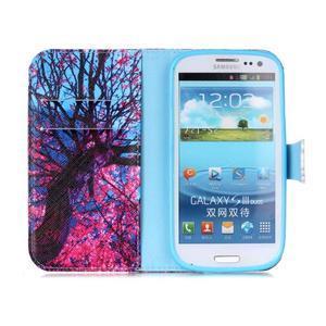 Emotive peňaženkové puzdro pre Samsung Galaxy S3 - strom - 3