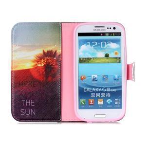 Emotive peňaženkové puzdro pre Samsung Galaxy S3 - východ slnka - 3