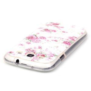 Gelový obal na mobil Samsung Galaxy S3 - květiny - 3