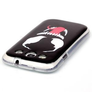 Gelový obal na mobil Samsung Galaxy S3 - monstrum - 3