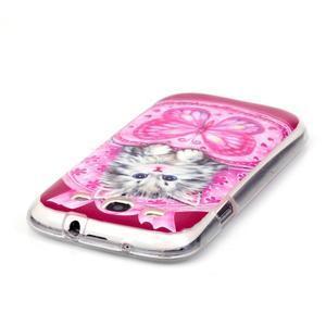 Gélový obal pre mobil Samsung Galaxy S3 - koťátko - 3