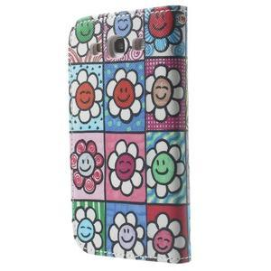 Funy pouzdro na mobil Samsung Galaxy S3 - květiny - 3