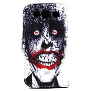 Knížkové pouzdro na mobil Samsung Galaxy S3 - monstrum - 3