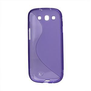 S-line gelový obal na Samsung Galaxy S3 - fialový - 3
