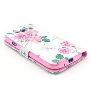 Pictu puzdro pre mobil Samsung Galaxy S3 - kvetinová koláž - 3