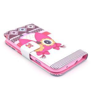 Pictu pouzdro na mobil Samsung Galaxy S3 - sova - 3
