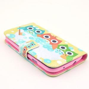 Pictu puzdro pre mobil Samsung Galaxy S3 - sovičky - 3