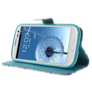 Knížečkové puzdro pre Samsung Galaxy S3 - Londýn - 3