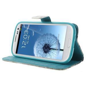 Knížečkové pouzdro na Samsung Galaxy S3 - Eiffelova věž - 3