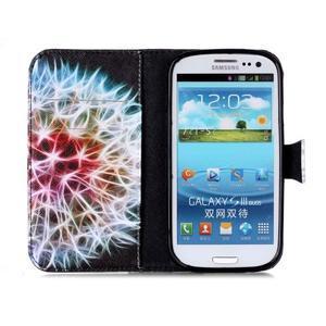 Emotive peněženkové pouzdro na Samsung Galaxy S3 - odkvetlá pampeliška - 3