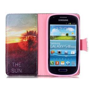Emotive puzdro pre mobil Samsung Galaxy S3 mini - východ slnka - 3